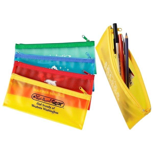 Promotional School Mate Zippin Pen Pencil Case
