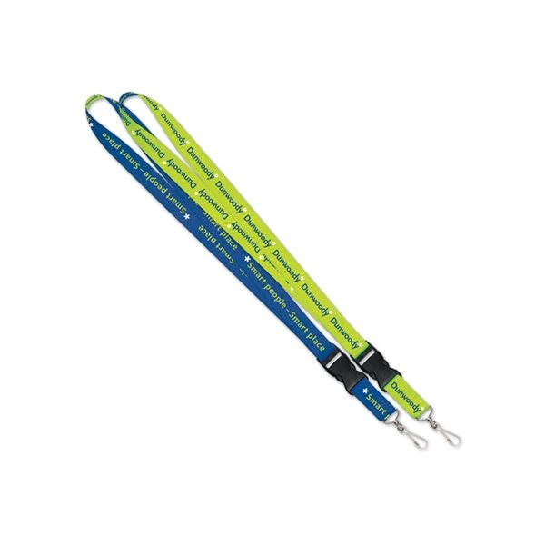 Promotional Lanyard - 1 with Detachable Buckle