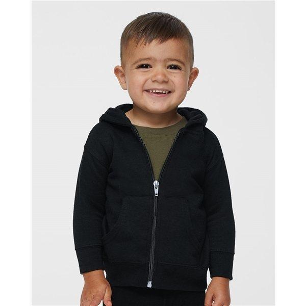 Promotional Rabbit Skins - Infant Hooded Full - Zip Sweatshirt