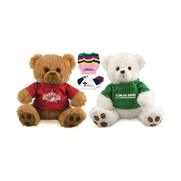 Promotional 12 Plush Bear with T - Shirt