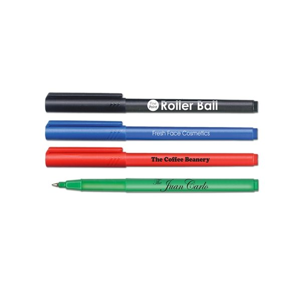 Promotional Roller Ball Pens .3mm Fine Point - USA Made