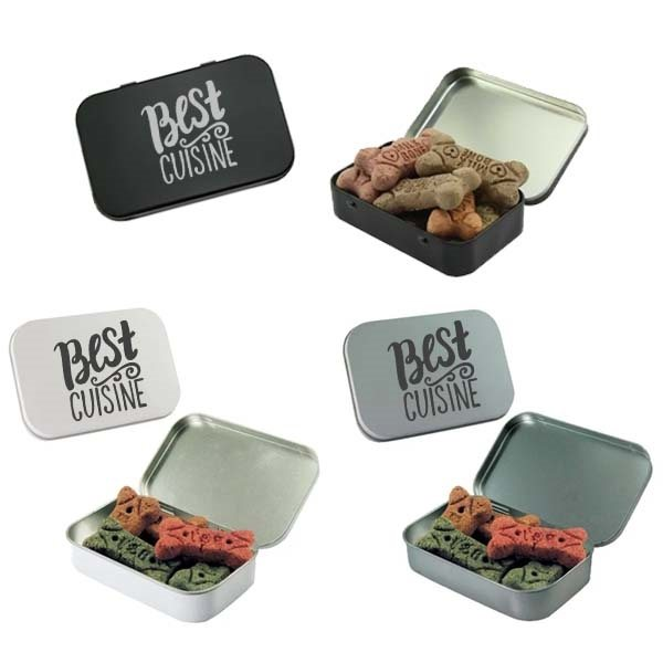 Promotional Dog Bones in Large Tin