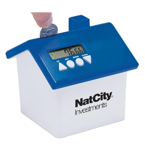 Promotional Talking Coin Bank
