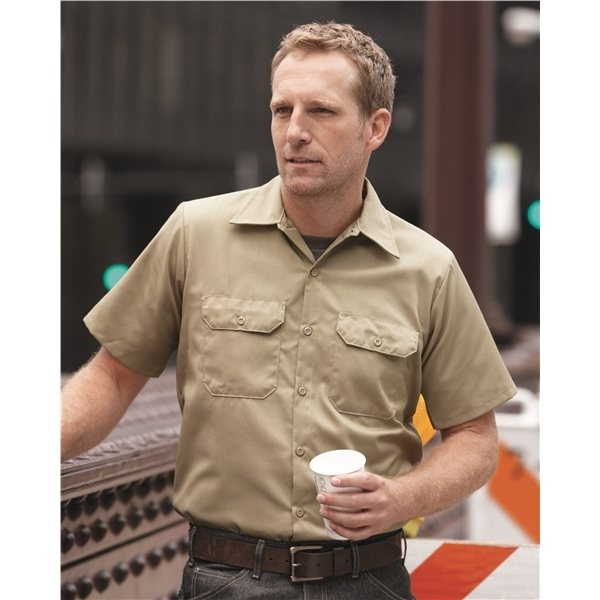Promotional Red Kap Utility Short Sleeve Work Shirt