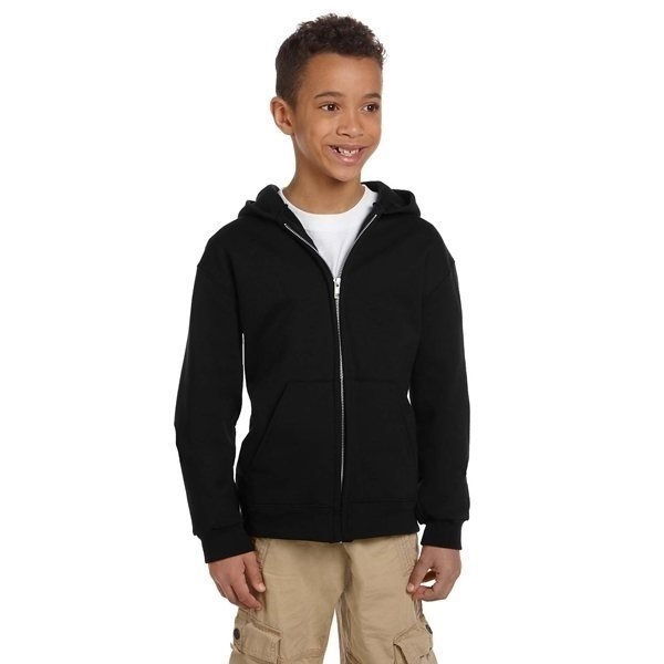 Promotional Champion Youth Eco(R) 9 oz 50/50 Full - Zip Hood