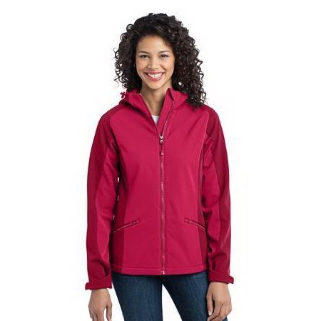 Promotional Port Authority Ladies Gradient Hooded Soft Shell Jacket