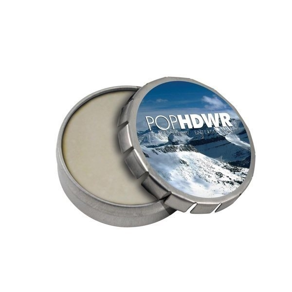 Promotional Mini Tek Klick Lip Balm Tin