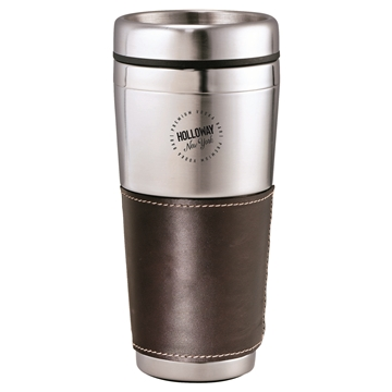 Cutter & Buck® Amer Classic Leather Tumbler