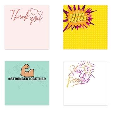 3 X 3 Adhesive Notepads 50 Sheet Pad