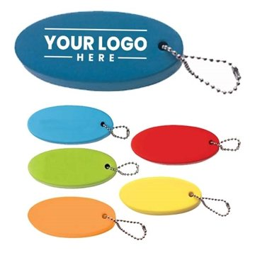 Multi Color Custom Floater Key Chain