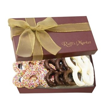 The Executive Gift Box Chocolate Covered Pretzel