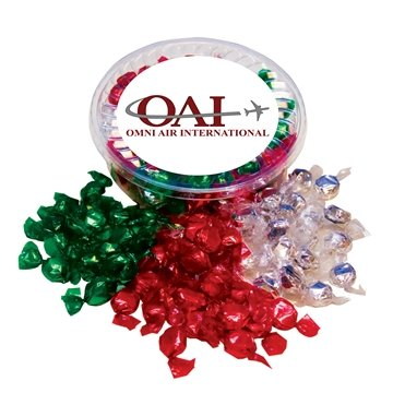 Promotional Designer Plastic Tray with Hard Foil Candy