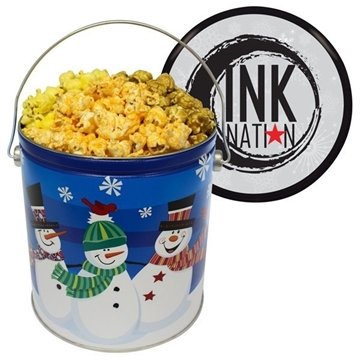 Promotional 1-gallon-popcorn-tin