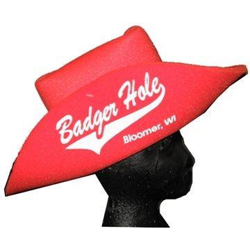 18 Foam Cowboy Hat