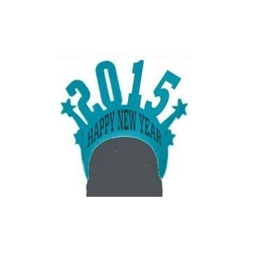 Promotional New Year Visor