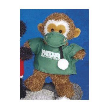 Ruddly Stuffed monkey 10