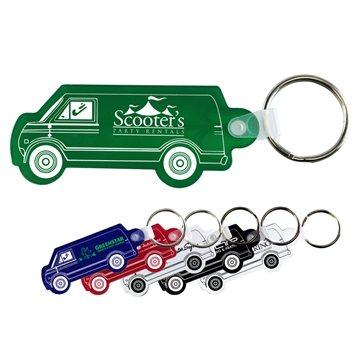 Promotional Van Key Fob