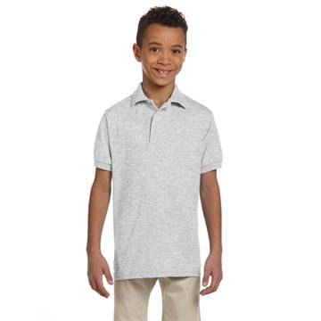 Promotional Jerzees Youth 5.6 oz 50/50 Jersey Polo with SpotShield(TM)