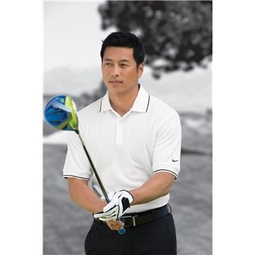 Promotional Nike Golf - Dri - FIT Classic Tipped Polo.
