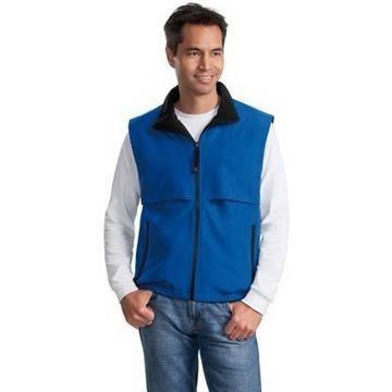 Promotional Port Authority Reversible Terra - Tek Nylon and Fleece Vest