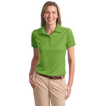 Promotional Port Authority Ladies Poly - Bamboo Charcoal Birdseye Jacquard Polo