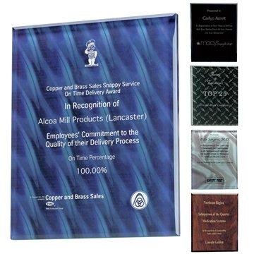 Trillinnium Award Plaque - 8'' x 10''