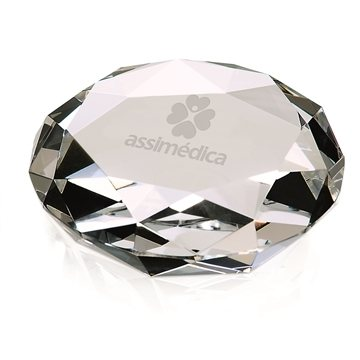 Promotional Faceted Paperweight