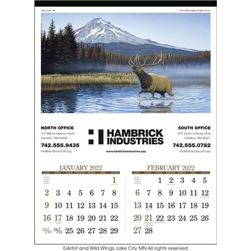 Promotional wildlife-art-triumphr-calendars