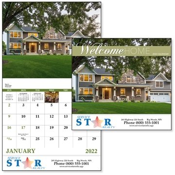 Promotional welcome-home-stapled-good-value-calendarsr