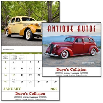 Antique Autos - Stapled - Good Value Calendars(R)