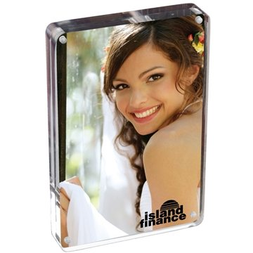 4X6 Two Sided Acrylic Photo Frame