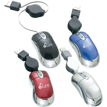 Optical Mouse With USB Cord