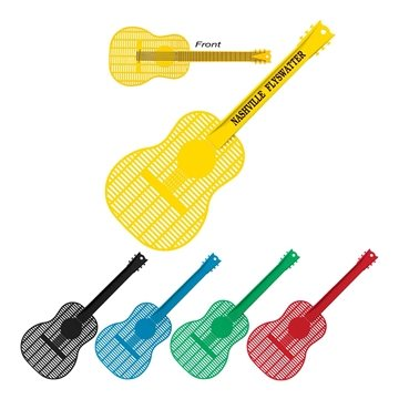 Large Guitar Shape Fly Swatter.