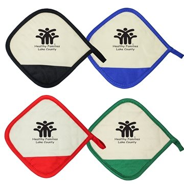 Promotional Da Pot Holder - Pot Holder With Hanging Tab.