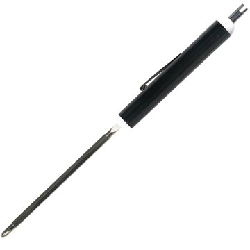 Promotional Pocket Screwdriver With Reversible 3-4 Standard And Number One Phillips Blade.