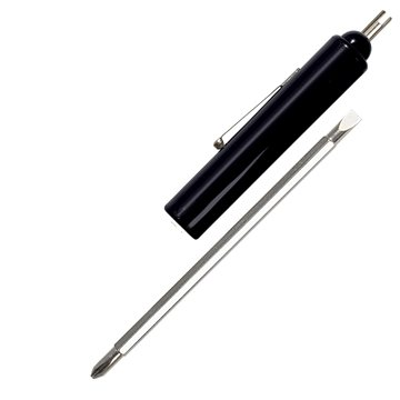 Promotional big-al-screwdriver-with-reversible-blade-and-valve-stem-top