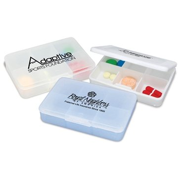 Promotional Tablet Tote Pill Box