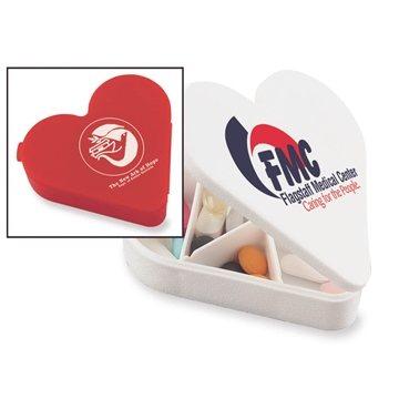 Promotional Heart Pill Box