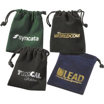 Promotional Golf Items In Velour Bag W / Tees Marker
