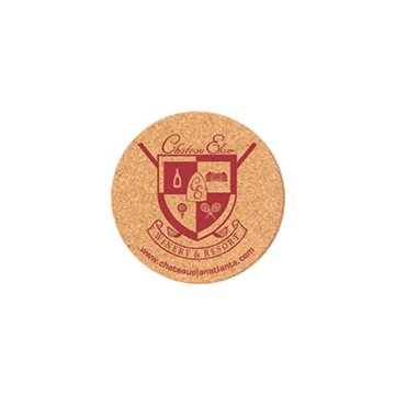 Promotional 4 - Round cork coaster.