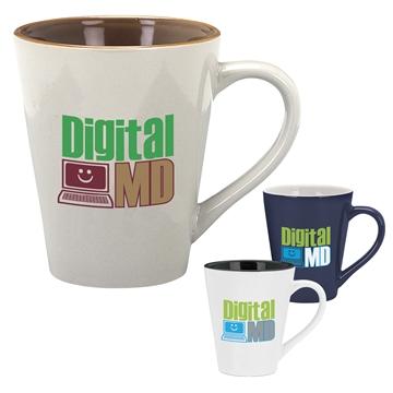 Designer Two-Tone Mug - 14 oz