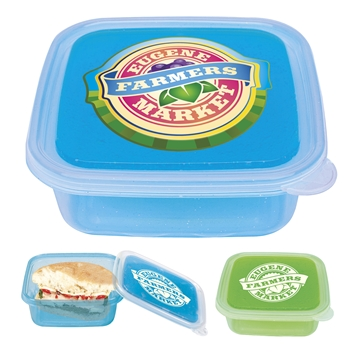 Promotional Cool Gear(R) Freezable Gel Lid Storage Container