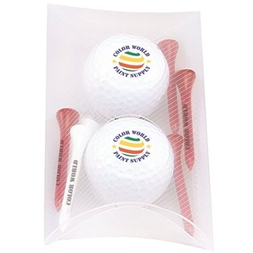Promotional 2 Ball Pillow Pack - Titleist(R) DT(R) SoLo