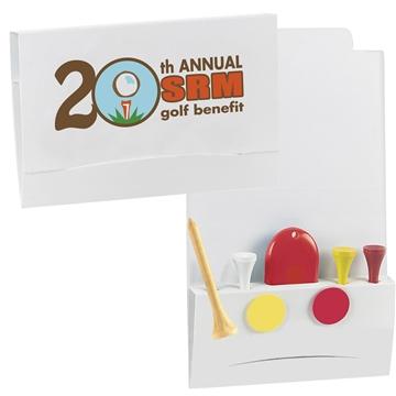 Promotional 4-2-1 Golf Tee Packet - Value Pak -2-1/8 Tees