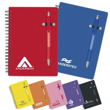 5'' X 7'' 70 Lined Pen-Buddy Notebook
