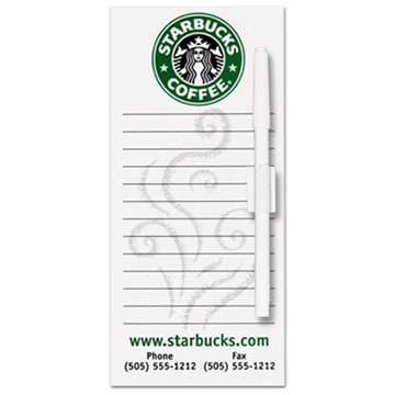Promotional rectangle-memo-board-4-x-9-14
