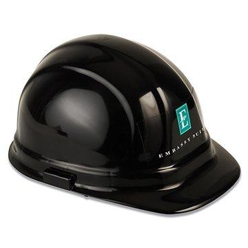 Promotional Decal Imprint Hard Hat - Hard Hat - Front Or Back (A)
