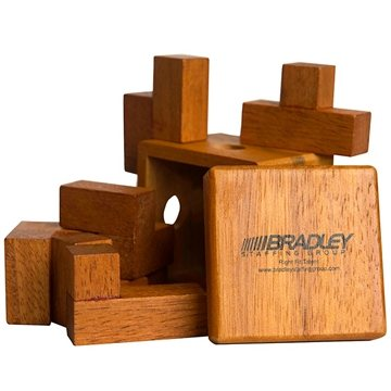 Promotional wooden-box-puzzle