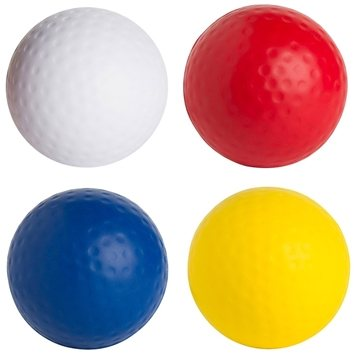 Golf Ball Squeezies Stress Reliever