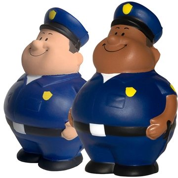 Promotional Policeman Bert Squeezies
